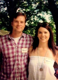 Roman Krause And Lauren Graham