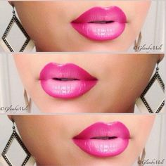 Barbie-mouth! I probably wouldn't wear this, but on the right person it would be hot!
