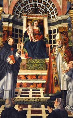 Madonna, Child and Saints Santa Anastasia, Mama Mary, Madonna And Child, Pray For Us, Blessed Virgin Mary, Verona, Saints, Icons, Children