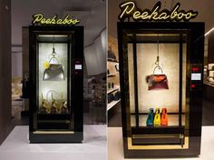 This Fendi Window Display at Harrod's is Inspired by Arcade Kiosks #fashion trendhunter.com