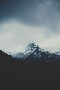 Tags: mountains, snow capped, clouds, cloudy, black & white, dark