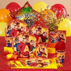 Alvin e os Esquilos (Festa) Alvin and the Chipmunks (Party)