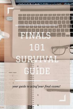 Finals can be super scary, especially if you're a freshman. I've been through…