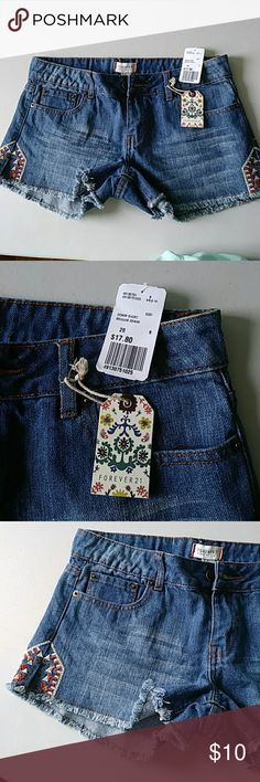 Forever 21 Jean shorts New Jean shorts Forever 21 Shorts Jean Shorts