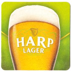"""The light beer of the Irish, a traditional """"Summer beer of Ireland"""" thats still great to induldge on anytime of the year on tap at A. O'Brady's Irish Pub & Grill in Menomonee Falls, WI Light Beer, Harp, Guinness, Irish, Draught Beer, Menomonee Falls, Tired, Ireland, Crafty"""