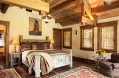 Master Bedroom Ideas country  | Rustic Master Bedroom Decorating Ideas