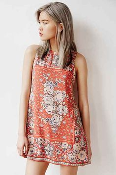 Ecote Guinevere Open-Back Frock Dress - Urban Outfitters