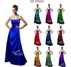 Burgundy,Navy,Royalblue,Red,Purple, Satin Bridesmaid Wedding Evening Party Dress