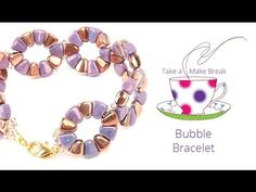 Nib-Bit Bubble Bracelet | Take a Make Break with Beads Direct
