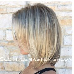 Spring blonde by shaundae at Scott Lemaster Salon and Spa.
