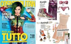 Insect #Earrings in the #Cosmopolitan #July Issue