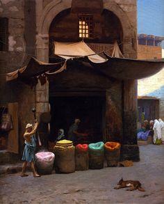 Jean-Léon Gérôme - The Color Grinder