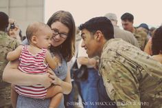 welcome home ceremony. #soldier #deployment