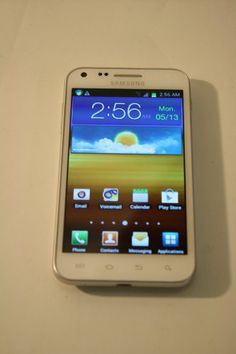 Samsung Epic 4G Touch Galaxy S II No Contract 8MP Android Smartphone – White Sprint | ($129.90)