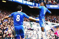 Drogba e Lampard, a maior dupla da história do Chelsea #FotosHistóricas