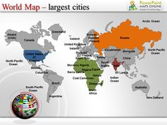 pin by powerpoint maps on world map pinterest