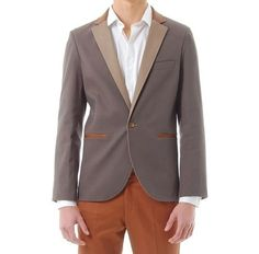 blazer hombre saco slim fit gabardina diseño exclusivo unico