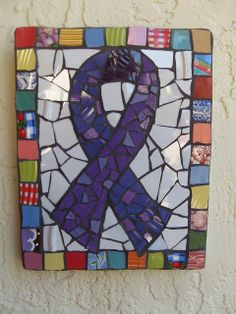 Mosaic Relay for Life ribbon | Flickr - Photo Sharing!