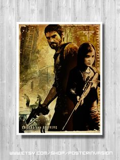 The Last Of Us poster Video game inspired by by PosterInvasion