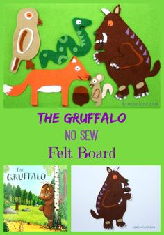 The Gruffalo Felt Board from damsonlane.com