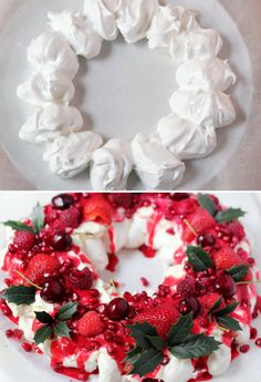 Three-Layer Berry and Brown Sugar Pavlova | Something sweet ...