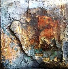 30x30 Texture Art, Texture Painting, Mixed Media Painting, Mixed Media Art, Painting Inspiration, Art Inspo, Acrylic Art, Medium Art, Collage Art