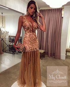 Vestido de festa, vestido madrinha, vestido de tule, vestido de renda, al. Casual Dresses, Fashion Dresses, Formal Dresses, Evening Dresses, Prom Dresses, Ballroom Dress, Lovely Dresses, Ball Gowns, Party Dress
