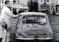 1967 Rally of the Flowers , LBL 590 E crewed by Paddy Hopkik and Ron Crellin(pictured) finished 2nd and 2nd in class