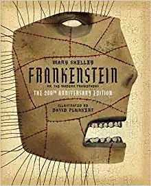 Classics Reimagined, Frankenstein by Mary Shelley, David Plunkert 3-21