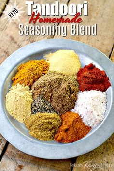 Take a trip to India without leaving your kitchen with this Homemade Tandoori. Tandoori Seasoning Recipe, Tandoori Recipes, Tandoori Spice Mix Recipe, Tandoori Masala Recipe, Tandoori Chicken Marinade, Mexican Seasoning, Seasoning Mixes, Cajun Seasoning, Homemade Seasonings