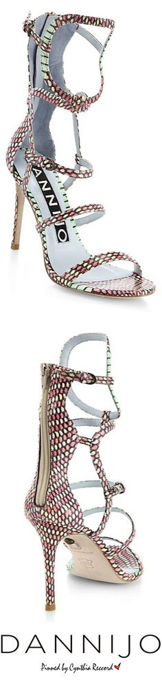 Dannijo   SS 2015   cynthia reccord #shoes #heels