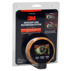3M 39008 Headlight Lens Restoration System Kit, Buffing Polish and Plastic #3M
