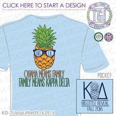 TGI Greek- Kappa Delta- Greek Apparel #KappaDelta #KD #BigLittle