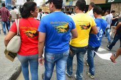 Gran marcha por la Paz, Justicia Social, ASCAMCAT, Acompañamiento Internacional, IAP, 9 de abril, Colombia, Gaitan, Marcha patriótica