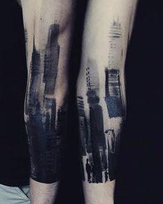 #city#sketch#brush#ink#tattoo#tattoos#tattooed#graphic#ink#inked#blacktattoo @danko.ink @bobektattoo