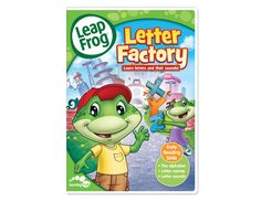 Letter Factory DVD from LeapFrog:  My own children are now 10 and 12, but they still remember this DVD.  It's very clever and catchy.
