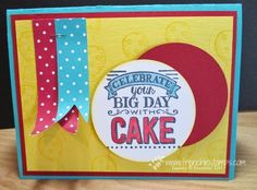 "2015 Sketched Birthday Clear Stamp Set	130426 $17.95, Big Day Clear Stamp Set	139112 Price: $0.00, 2-1/2"" Circle Punch	120906: $16.95"