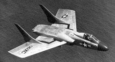 Vought F7U-3 Cutlass bulp nose