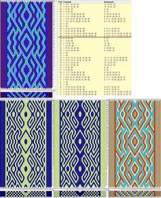36 tarjetas, 4/2 colores, repite cada 24 movimientos // sed_820 diseñado en GTT༺❁