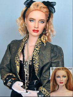 Madonna Barbie Repaint.
