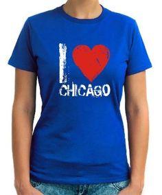 I Love Chicago Women 2 T-Shirt