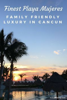 Finest Playa Mujeres is one of the premier luxury destinations in Cancun. Families will love the attention to detail, devoted staff, and fine dining this all-inclusive property has to offer. - Kirsten Maxwell Travelocity Gnational Gnomad