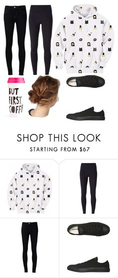 """""""lazy day """" by amerstne ❤ liked on Polyvore featuring Aloha From Deer, NIKE, Ström, Converse, women's clothing, women's fashion, women, female, woman and misses"""