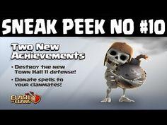 EAGLE ARTILLERY! New Achievement   Clash of Clans Update Sneak Peek #10 ...