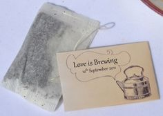 Personalised Tea Bags