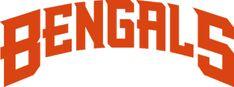NFL Cincinnati Bengals  Wordmark Logo (1997 - 2003)