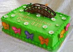 """Girl Scouts """"Bridging Ceremony"""" Cake"""