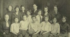 The 1905 State Champion Girls' Basket Ball team in the yearbook of Shortridge high school in Indianpolis, Indiana. No men were allowed to watch their games except the officials.  #Shortridge #Indianapolis #yearbook #1905 #basketball