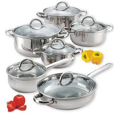 Are you on a trouble to choose the best stainless steel cookware that fits into your budget? Solution is Cook N Home 12-Piece Stainless Steel Set.
