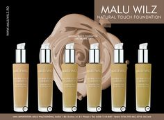 NATURAL TOUCH FOUNDATION are available at MALU WILZ ROMANIA! MALU WILZ Products are manufactured in Germany! www.maluwilz.ro
